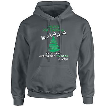Christmas Jumper Hoodie Xmas Unisex Hoodie 10 Colours (S-5XL) by swagwear