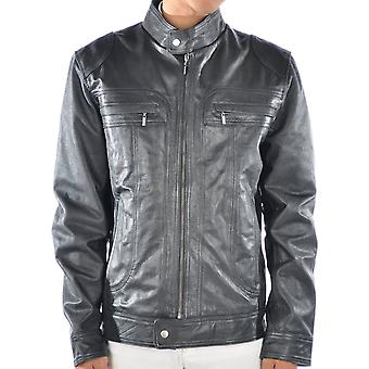 Hunter Mens Leather Jacket