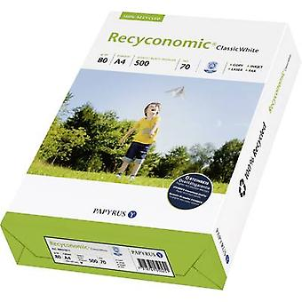 Recycled printer paper Papyrus Recyconomic Classic White 88031811