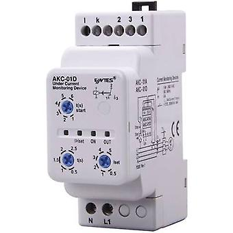 AKC current monitoring relay ENTES AKC-01D Contact type SPDT-CO (8 A)