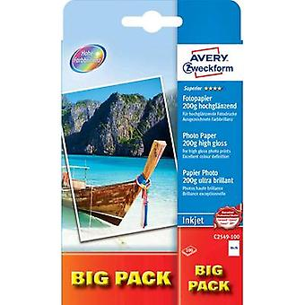 Photo paper Avery-Zweckform Superior Photo Paper Inkjet BIG PACK C2549-100