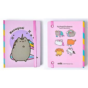 Pusheen the Cat premium spine wire notebook