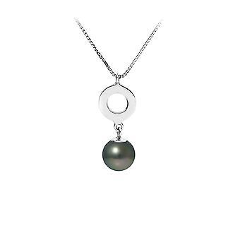 Wisiorek naszyjnik perła Tahiti i łańcucha w srebra próby 925