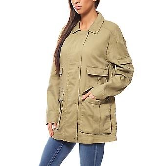 B.C.. best connections by heine ladies Safari jacket Green