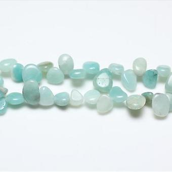 Strand 40+ Turquoise Amazonite 10-14mm Drop-Style Chip Beads GS3228