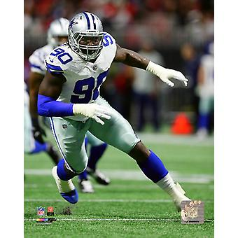 DeMarcus Lawrence 2017 Action Photo Print
