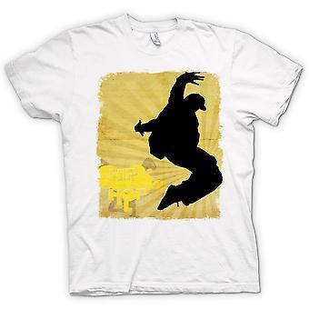 تي شيرت رجالي--الهيب هوب--كسر الرقص