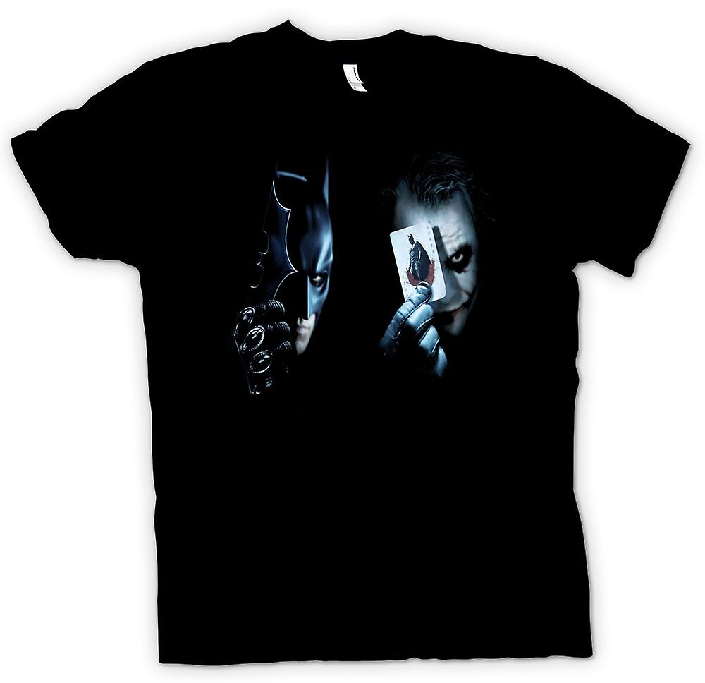 Mens T-shirt - Batman - Showing Cards