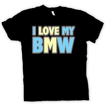 Kids T-shirt - I Love My BMW - Car Enthusiast