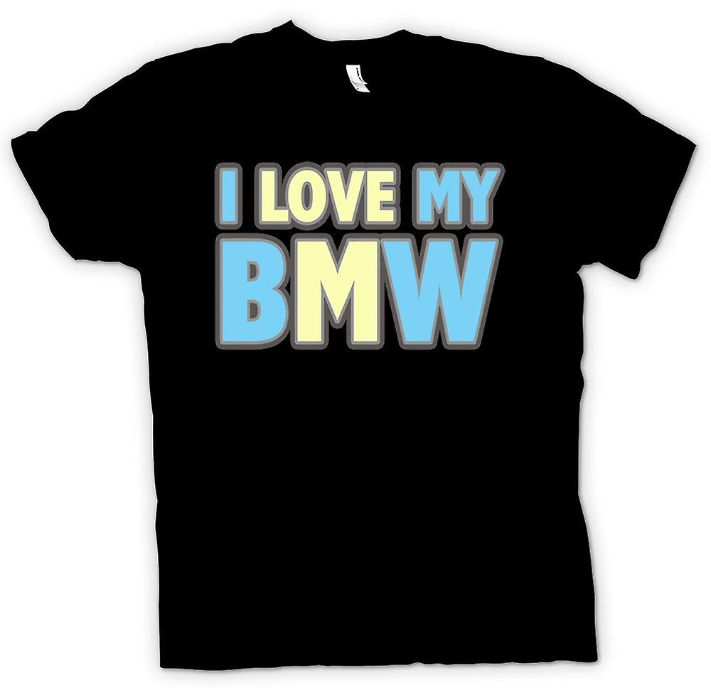 Kids T-shirt - I Love My BMW - Car Enthusiast