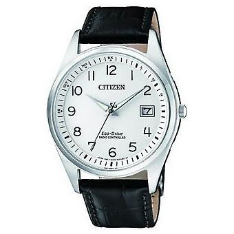 Citizen mens watch elegant radio controlled AS2050-10A
