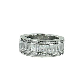 ESPRIT collection ladies ring silver zirconia Pallas Gr. 18 ELRG92318A180