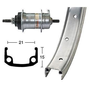 Bike parts 26″ rear alloy wheel + hub gears Shimano 3 speed (RB)