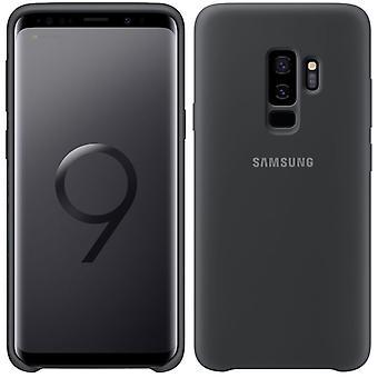 Housse silicone de Samsung EF PG965TJEGWW pour Galaxy S9 plus G965F sac manchon boîtier gris