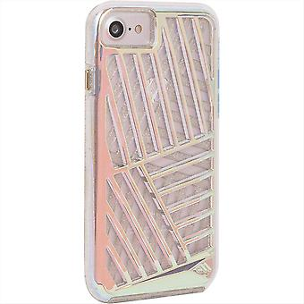 5 Pack -Case-Mate Tough Layers Case for iPhone 8/7/6/6s - Iridescent Cage