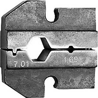 Crimp inset Telegärtner N01003A0027 1 pc(s)