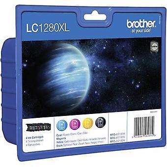Brother Ink LC-1280XL Original Set Black, Cyan, Magenta, Yellow LC1280XLVALBPDR