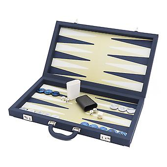 Dal Negro Luxury Elite Backgammon In Blue