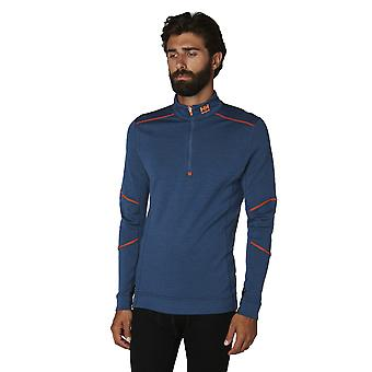 Helly Hansen Mens Lifa Merino Half Zip Workwear Base Layer