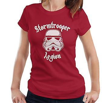 T-shirt original Legião Stormtrooper Metal pesado feminino