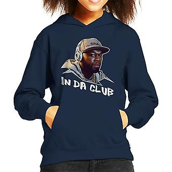 50 cent In Da Club nummer titel Kid de Hooded Sweatshirt