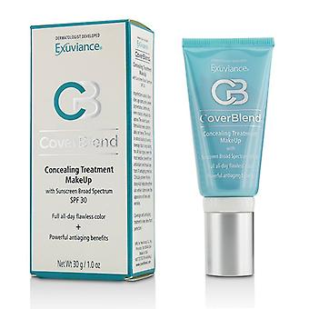Exuviance Coverblend Concealing Treatment Makeup SPF30 - # Toasted Almond 30ml/1oz