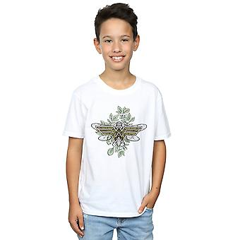 DC Comics jongens Wonder Woman Butterfly Logo T-Shirt