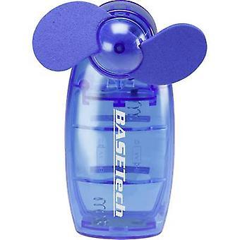 Basetech TM-2108A Hand-held fan Blue