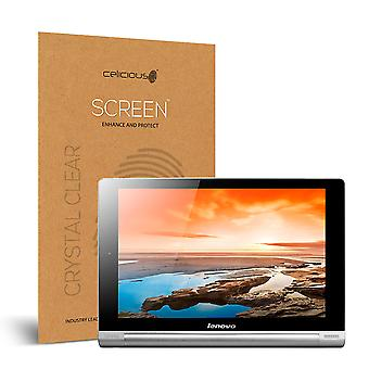 Celicious Vivid Invisible Glossy HD Screen Protector Film Compatible with Lenovo Yoga Tablet 10 [Pack of 2]