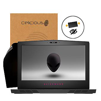 Celicious Privacy 2-Way Anti-Spy Filter Screen Protector Film Compatible with Dell Alienware 15 r4