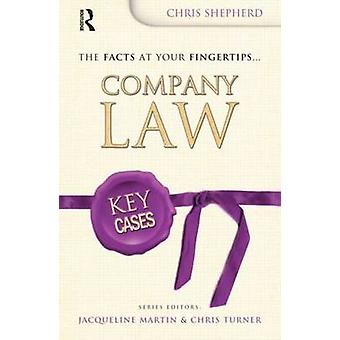 Key Cases - Company Law by Christopher Shepherd - 9780340947067 Book