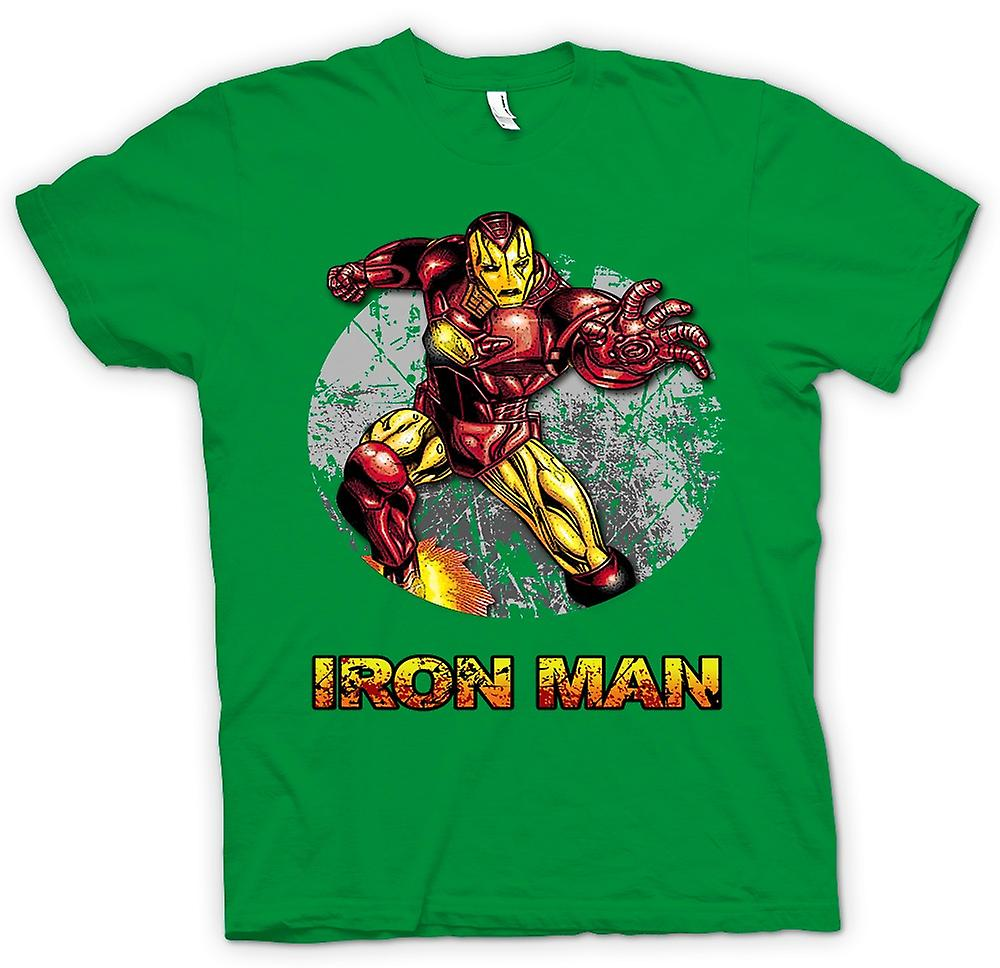 Mens T-shirt - Iron Man - Comic Super Hero