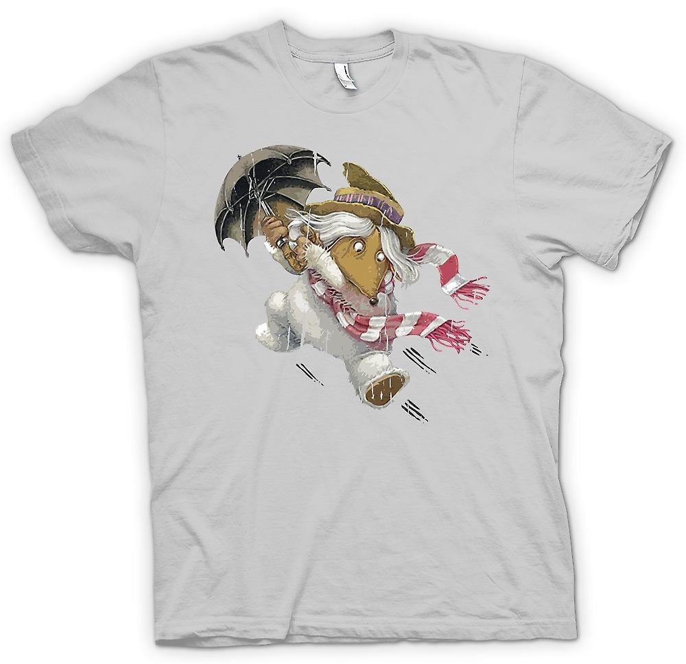 Mens T-shirt - The Wombles - Orinico With Umbrella