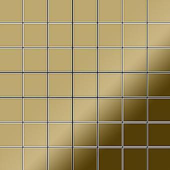 Metal mosaic Titanium ALLOY Attica-Ti-GM