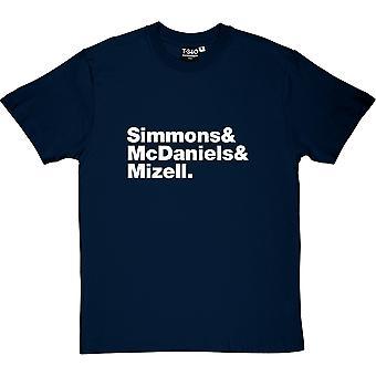 Run DMC состав Мужская футболка