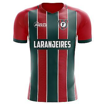 2019-2020 Fluminense Wohnkonzept Fußballtrikot