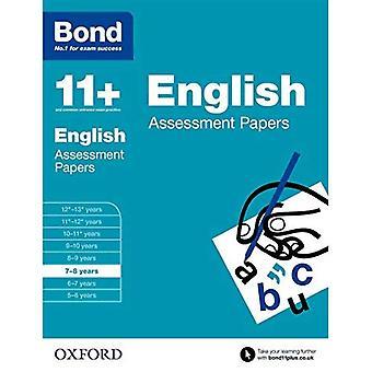 Enlace: 11 + Inglés: documentos de evaluación: 7-8 años