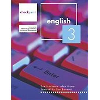 Cambridge-Checkpoint-Englisch: Schülers Buch BK 3