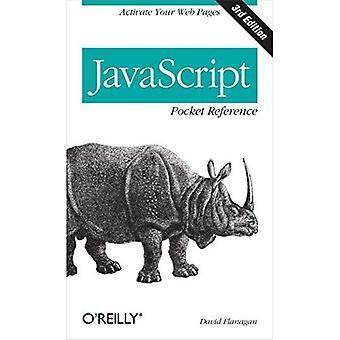 Référence JavaScript poche (Pocket Reference