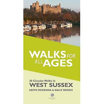 Walks for All Ages in West Sussex: 20 Short Walks for All the Family