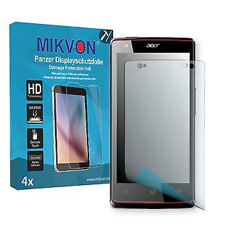 Acer Liquid E3 Screen Protector - Mikvon Armor Screen Protector (Retail Package with accessories)