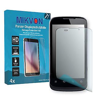 ZTE Blade III Screen Protector - Mikvon Armor Screen Protector (Retail Package with accessories)