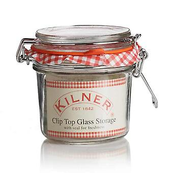 Kilner clip top jar (Round) - 350ml (0.35 liter)