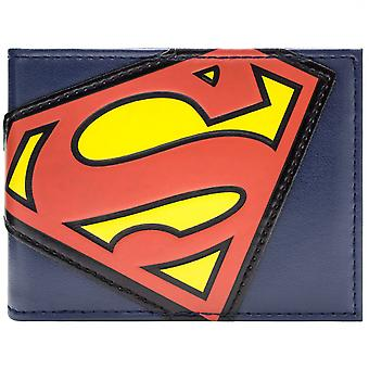 DC Comics Superman Suit Logo ID & Card Bi-Fold Wallet