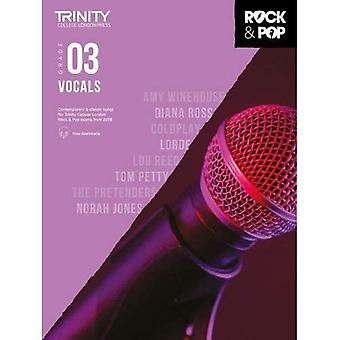 Trinity Rock & Pop 2018 sång grad 3 - Trinity Rock & Pop 2018 (noter)