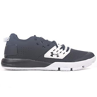 Under Armour Charged Ultimate 3.0 Mens Training Fitness Trainer Shoe Black/White