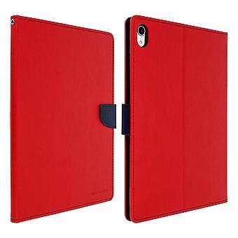 Étui pour iPad Pro 11 Folio Case porte-cartes de soutien fonction Mercury - rouge