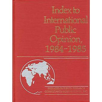 Hakemisto kansainvälisen mielipiteen 19841985 by Lsi