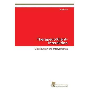 TherapeutKlientInteraktion av Mallin Uwe