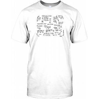 Physics Equations  - Newton - Cool Design Kids T Shirt
